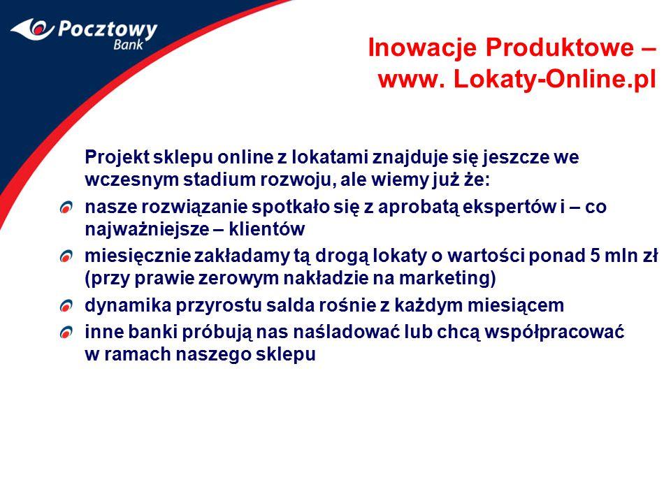 Inowacje Produktowe – www. Lokaty-Online.pl