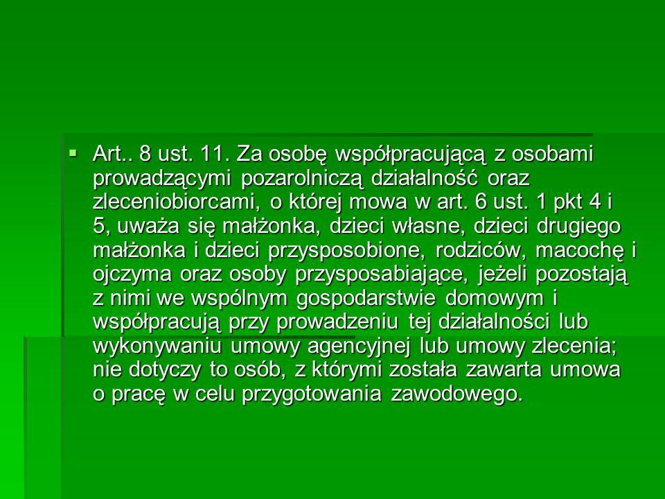 Art.. 8 ust.