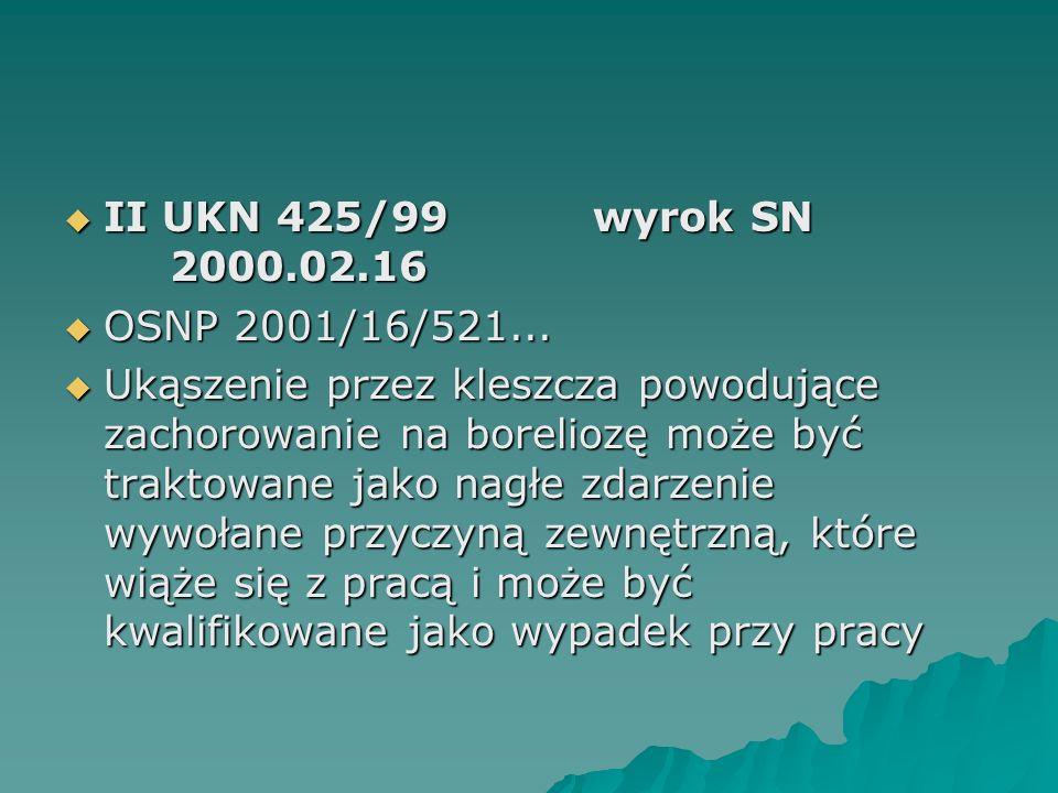 II UKN 425/99 wyrok SN 2000.02.16 OSNP 2001/16/521...