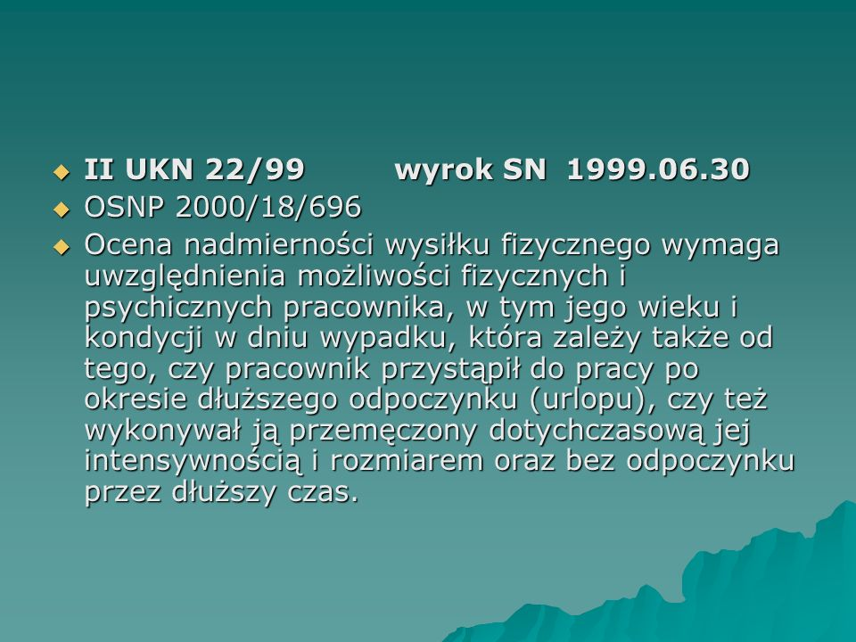 II UKN 22/99 wyrok SN 1999.06.30 OSNP 2000/18/696.