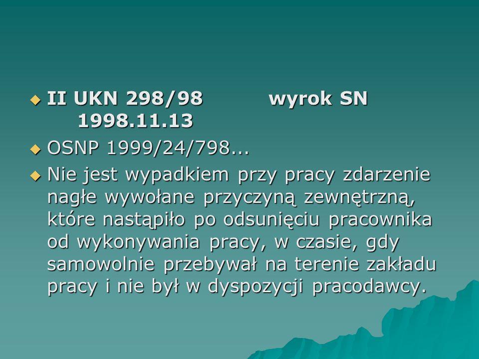 II UKN 298/98 wyrok SN 1998.11.13 OSNP 1999/24/798...