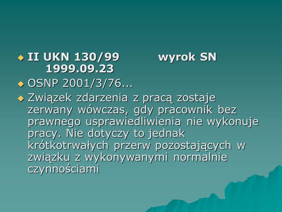 II UKN 130/99 wyrok SN 1999.09.23 OSNP 2001/3/76...
