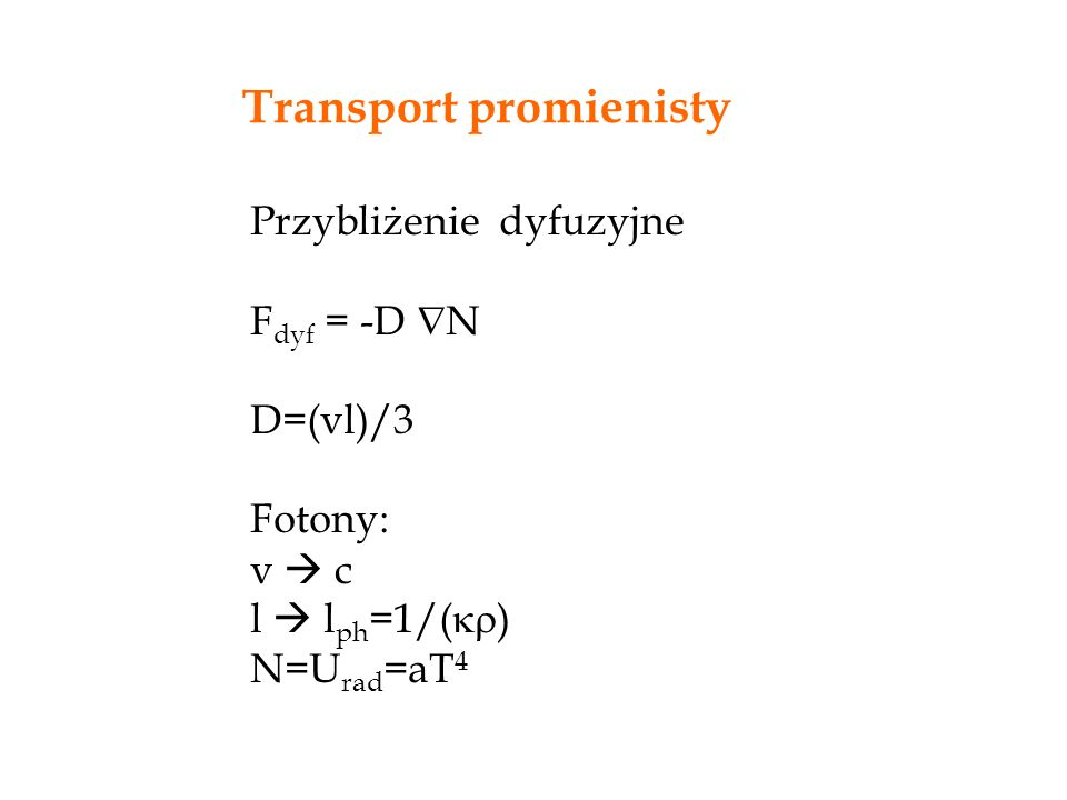 Transport promienisty