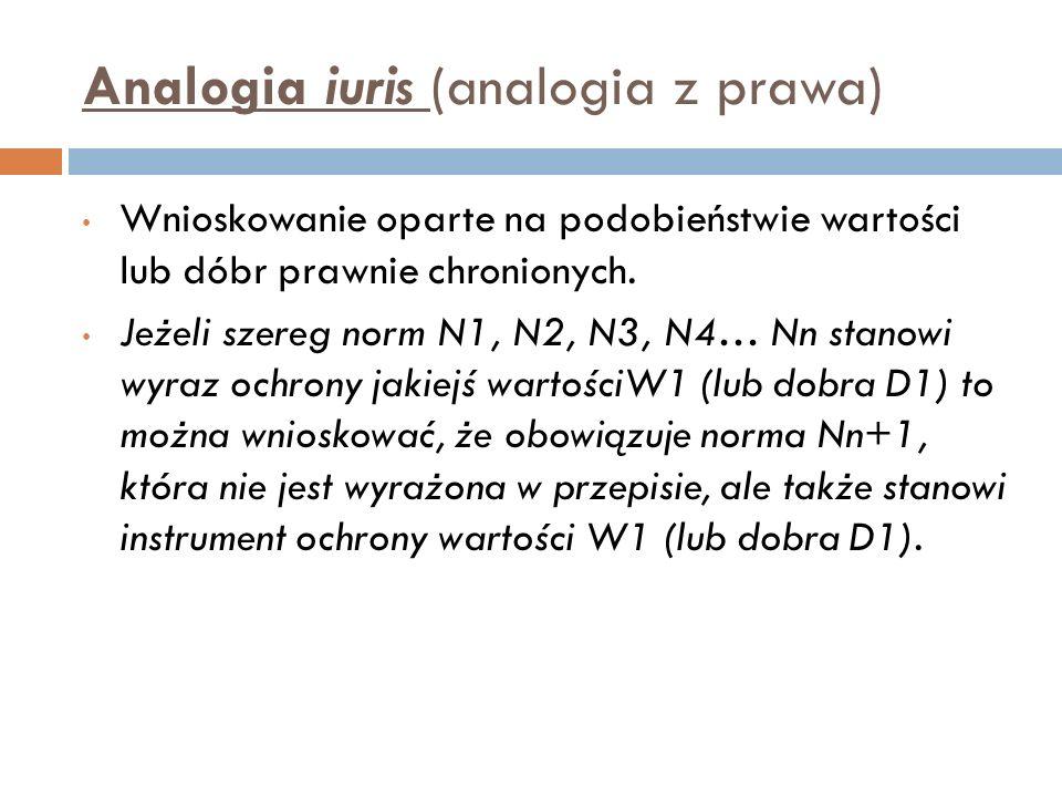 Analogia iuris (analogia z prawa)