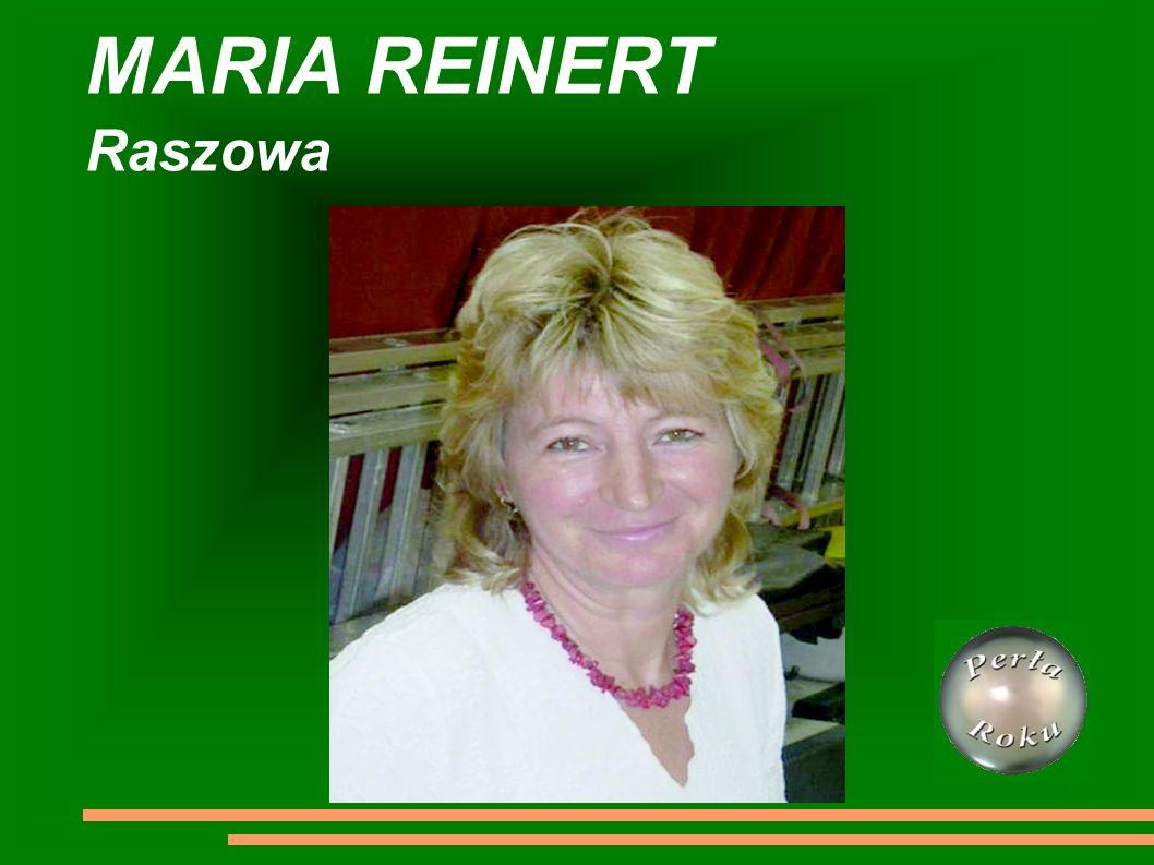 MARIA REINERT Raszowa