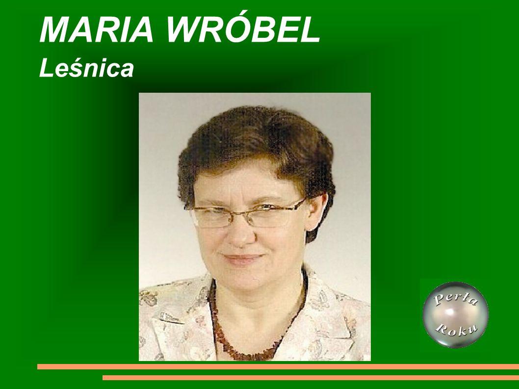 MARIA WRÓBEL Leśnica