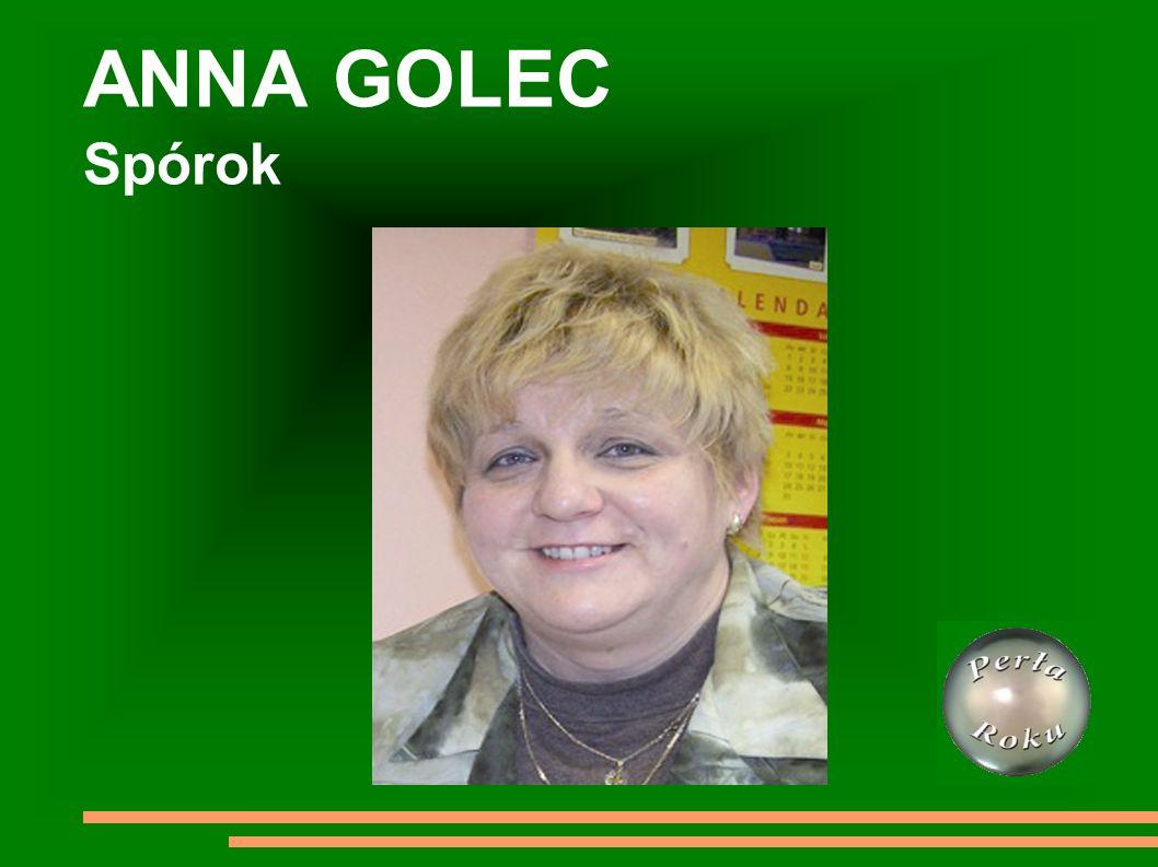 ANNA GOLEC Spórok