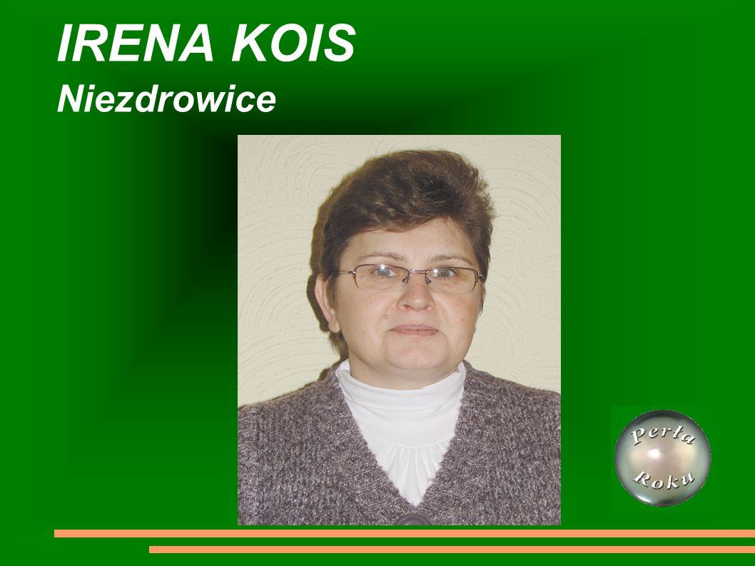 IRENA KOIS Niezdrowice
