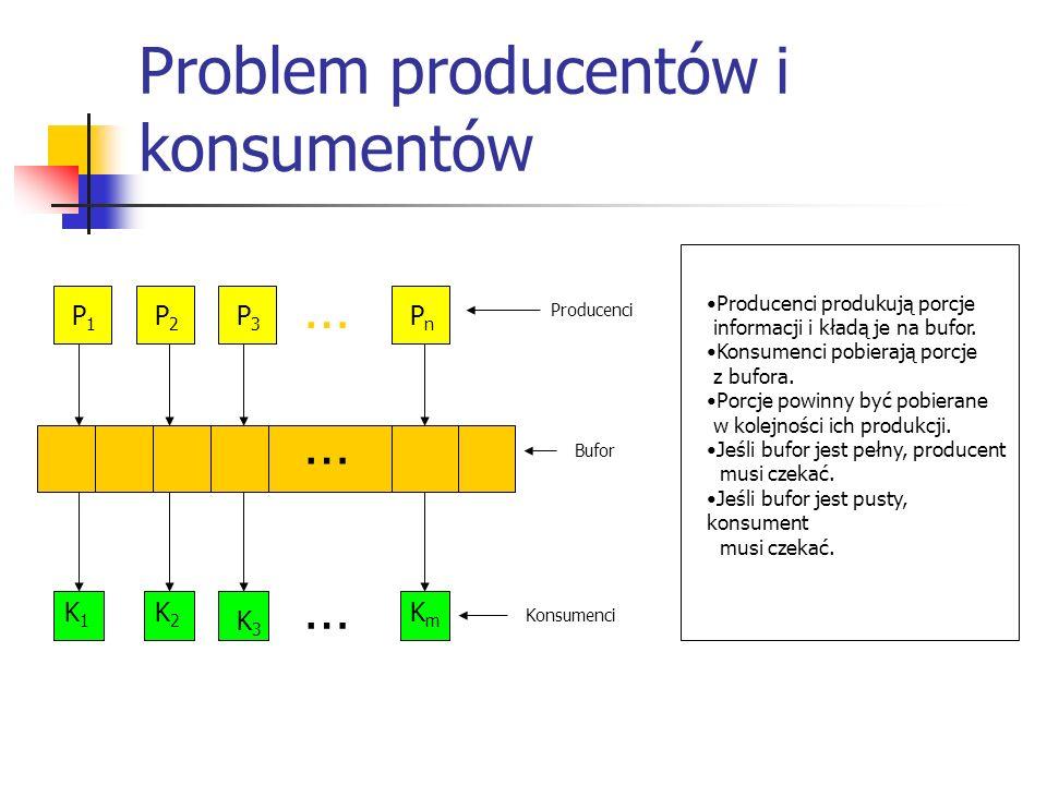 Problem producentów i konsumentów