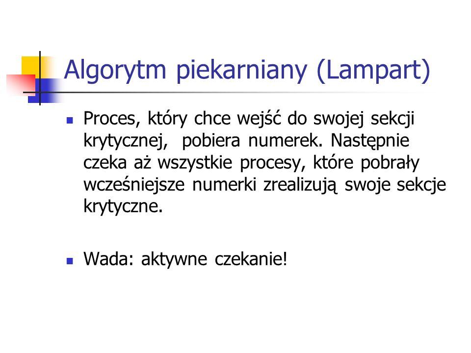 Algorytm piekarniany (Lampart)