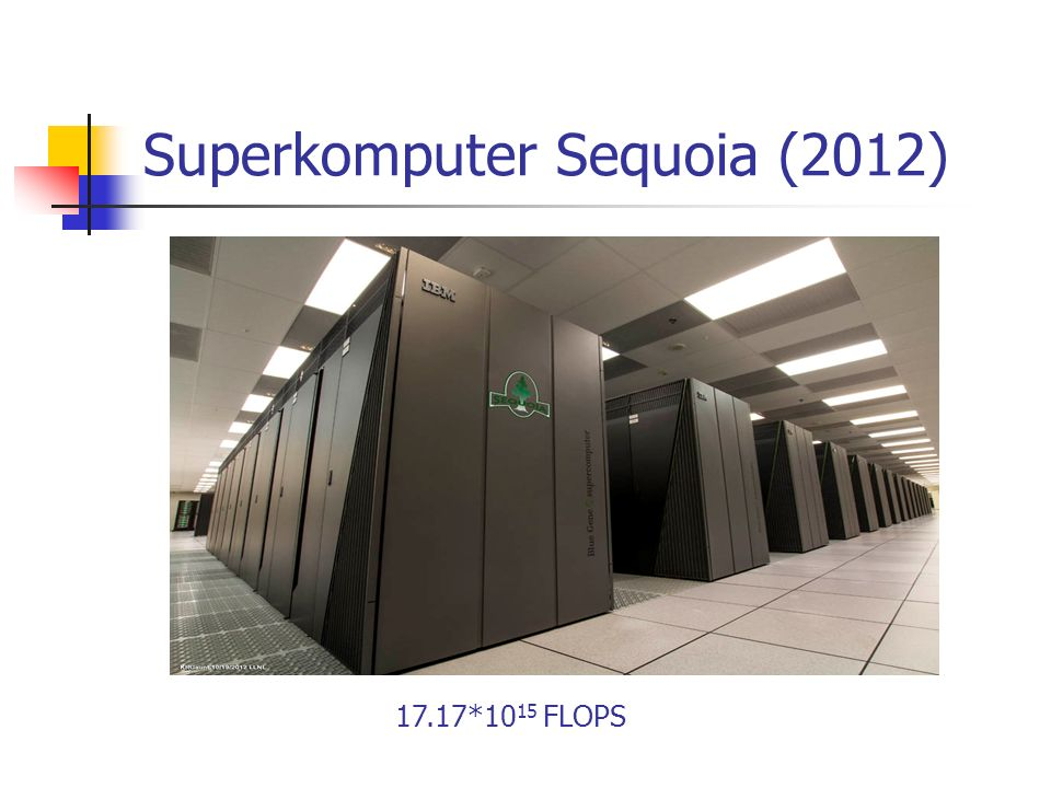 Superkomputer Sequoia (2012)