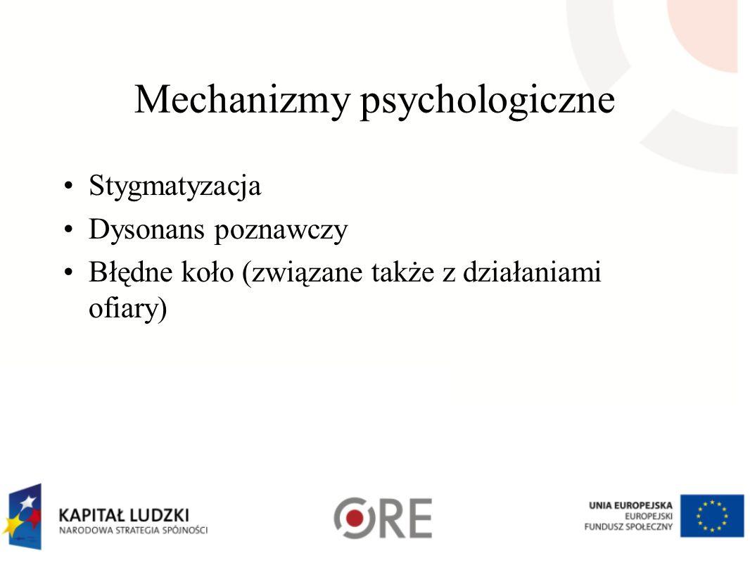 Mechanizmy psychologiczne
