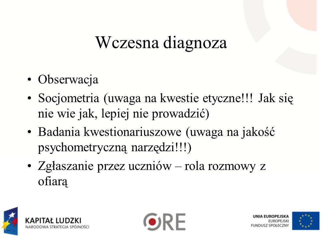 Wczesna diagnoza Obserwacja