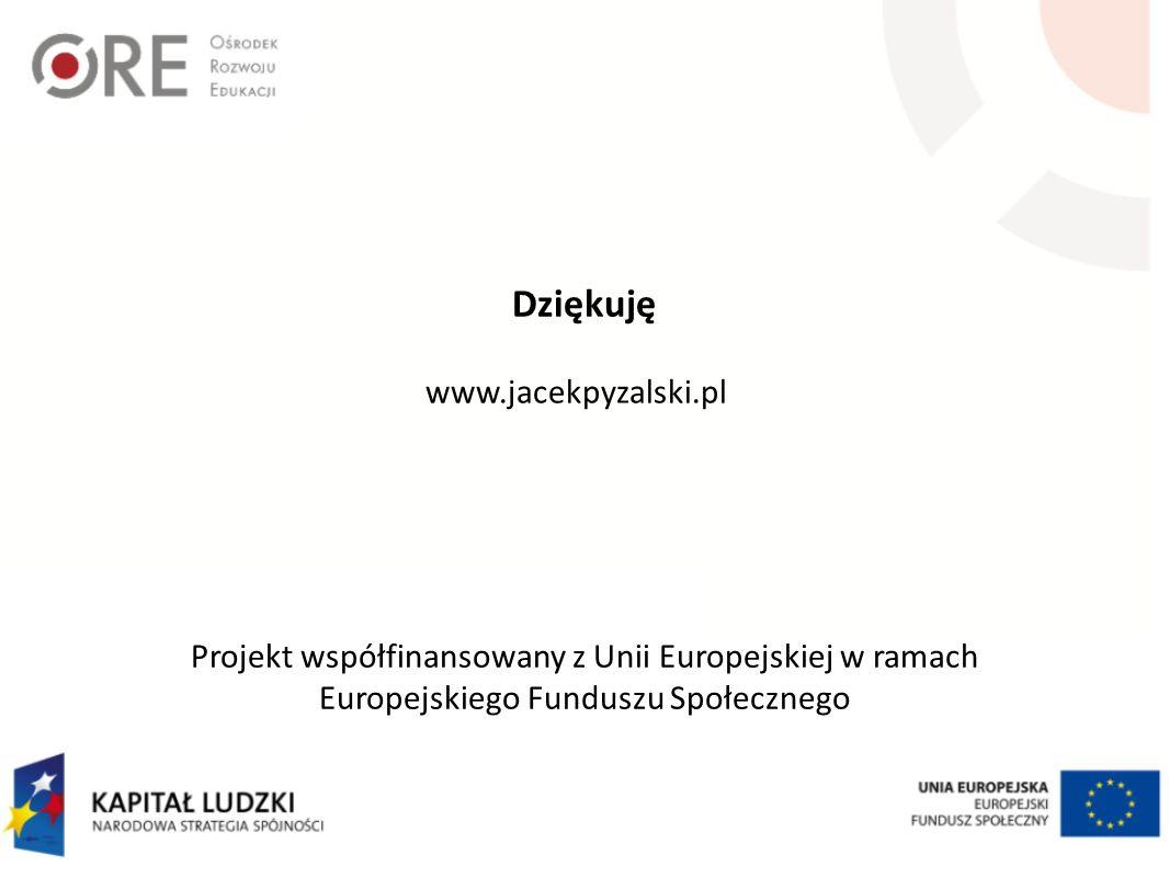 Dziękuję www.jacekpyzalski.pl