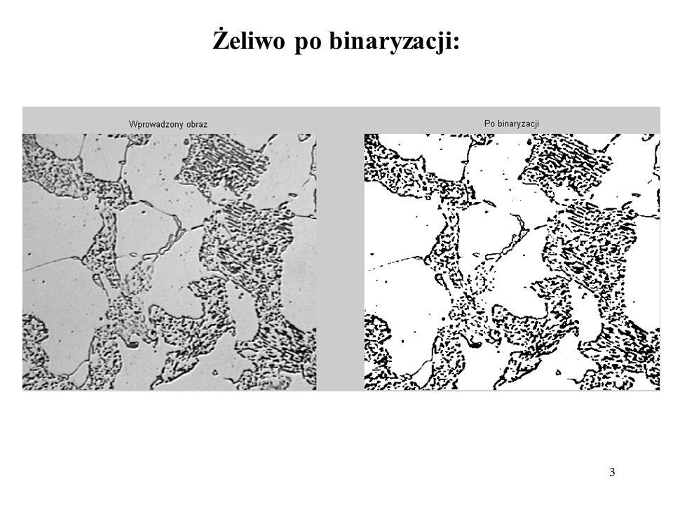 Żeliwo po binaryzacji:
