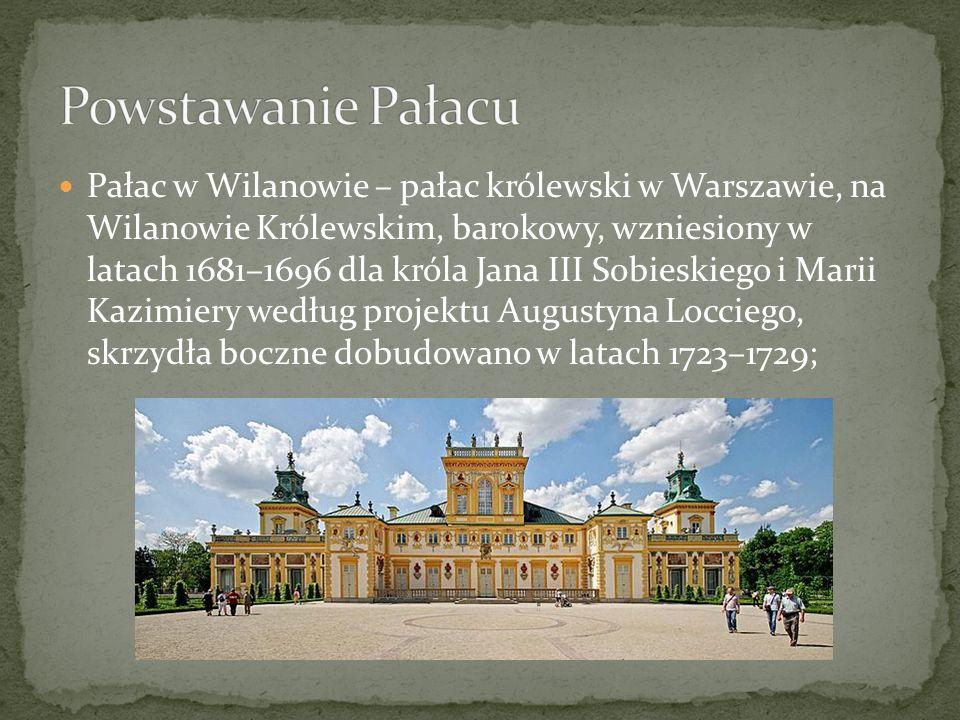 Powstawanie Pałacu