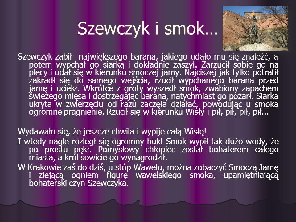Szewczyk i smok…