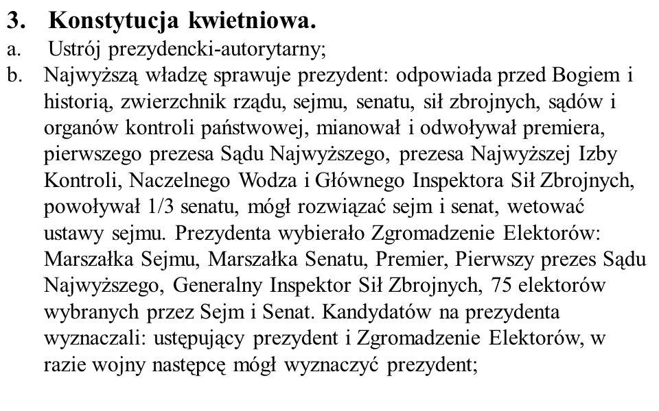 Konstytucja kwietniowa.