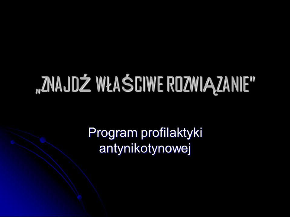 """""""ZNAJDŹ WŁAŚCIWE ROZWIĄZANIE"""