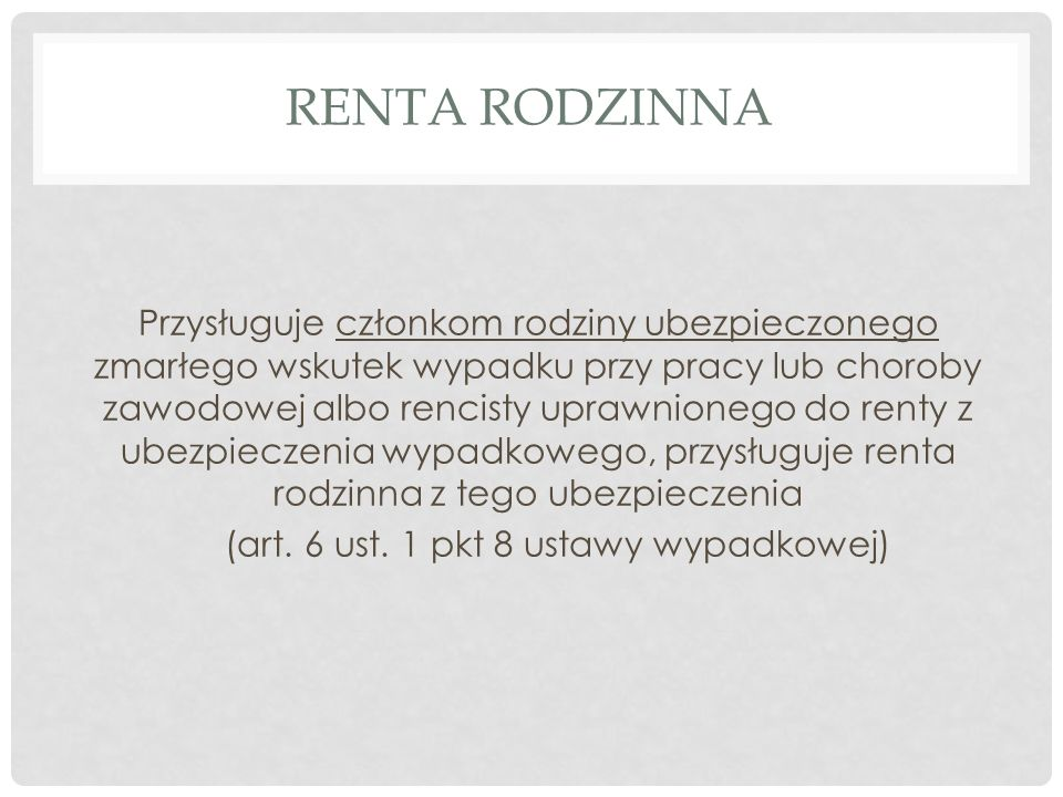Renta Rodzinna
