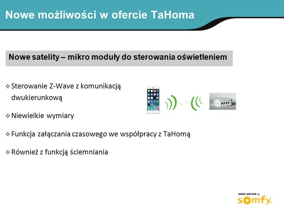 Nowe możliwości w ofercie TaHoma