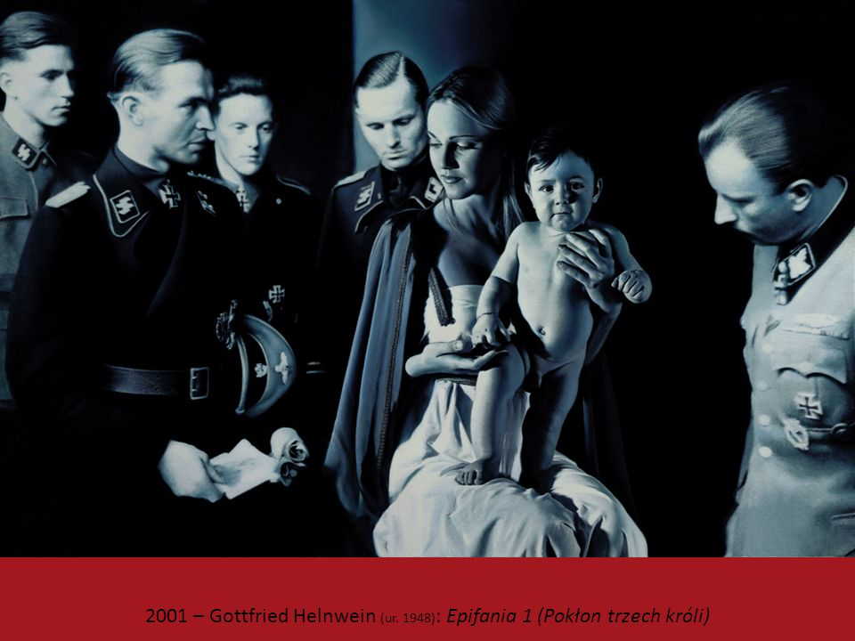 2001 – Gottfried Helnwein (ur. 1948): Epifania 1 (Pokłon trzech króli)