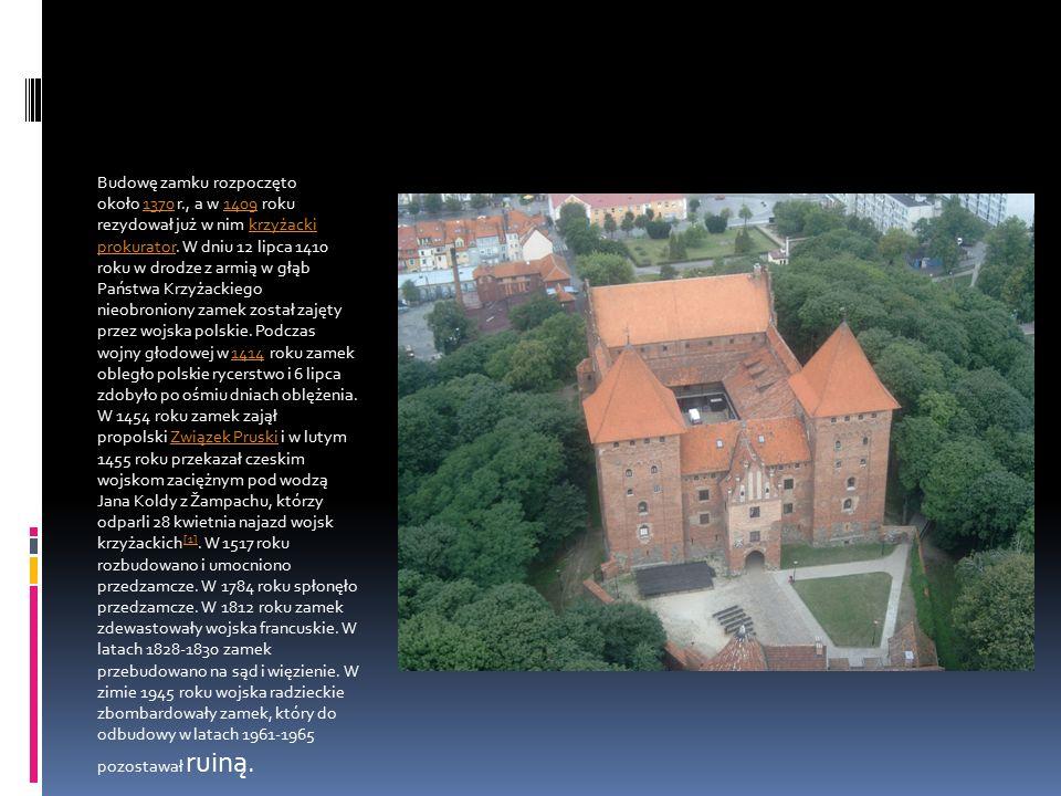 Budowę zamku rozpoczęto około 1370 r