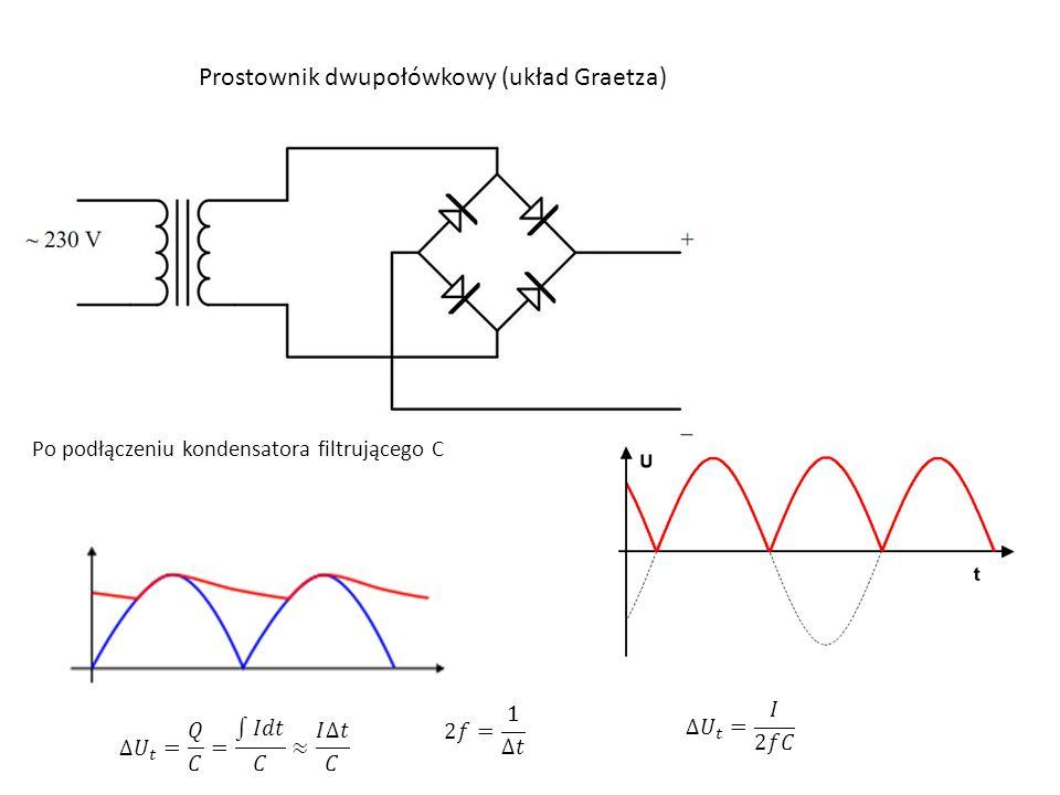 Prostownik dwupołówkowy (układ Graetza)