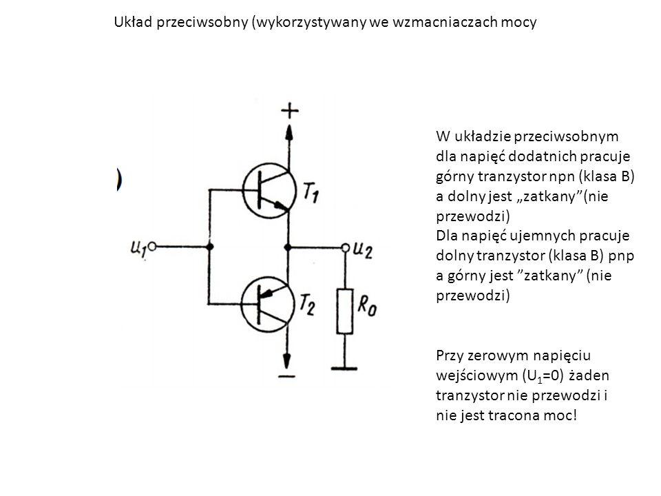 Układ przeciwsobny (wykorzystywany we wzmacniaczach mocy