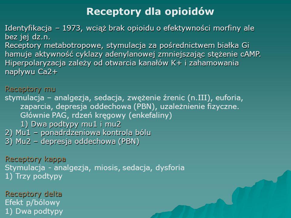 Receptory dla opioidów