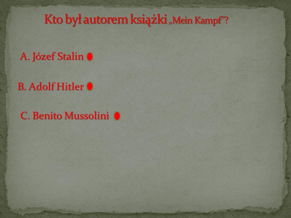 """Kto był autorem książki """"Mein Kampf"""