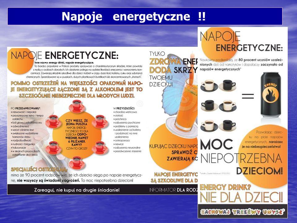 Napoje energetyczne !!