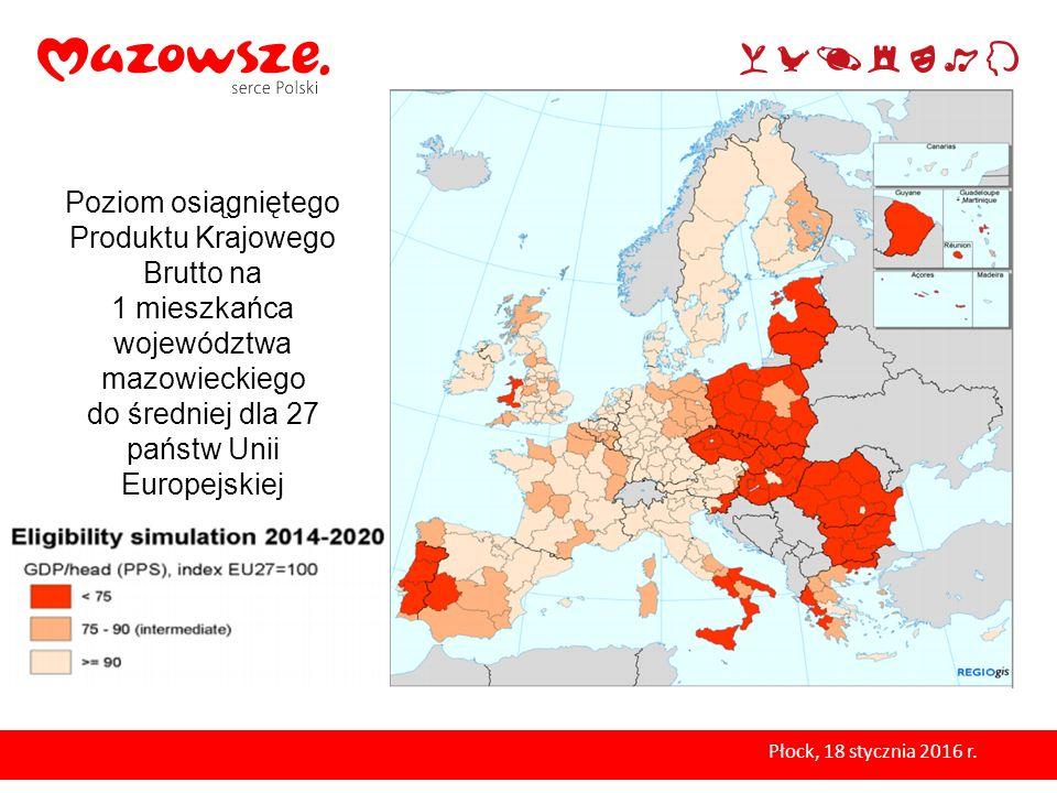do średniej dla 27 państw Unii Europejskiej