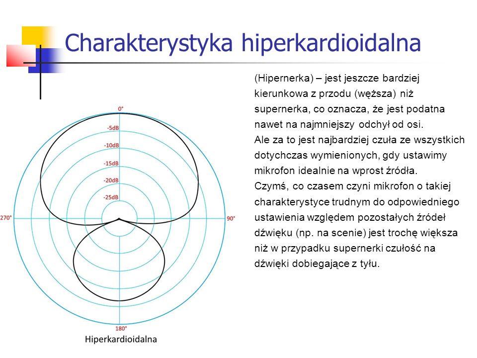 Charakterystyka hiperkardioidalna