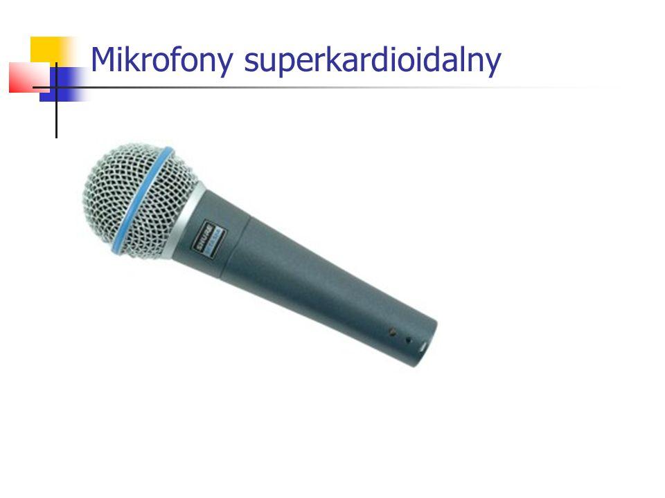 Mikrofony superkardioidalny