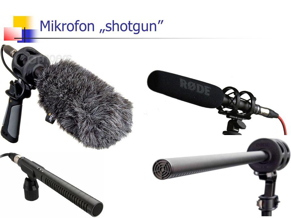 """Mikrofon """"shotgun"""