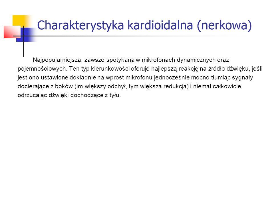 Charakterystyka kardioidalna (nerkowa)