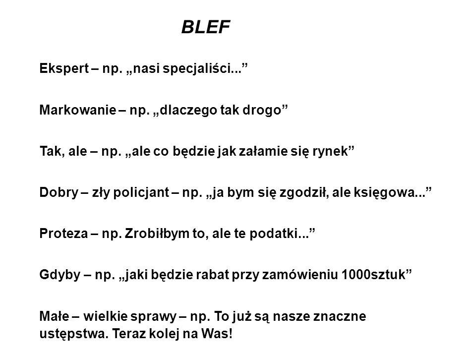"BLEF Ekspert – np. ""nasi specjaliści..."