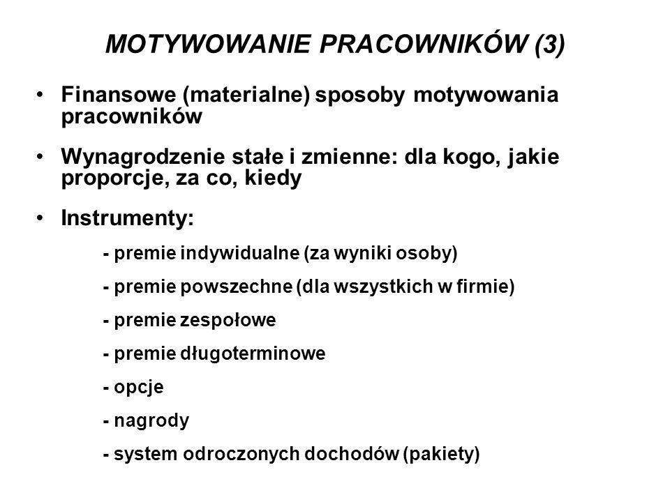 MOTYWOWANIE PRACOWNIKÓW (3)