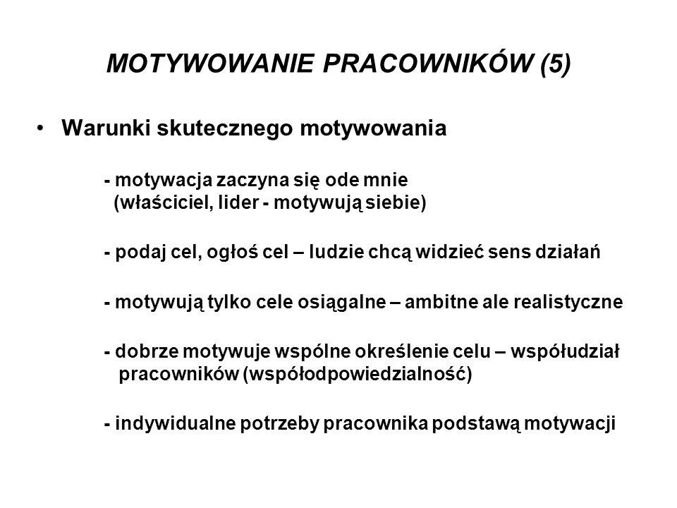 MOTYWOWANIE PRACOWNIKÓW (5)