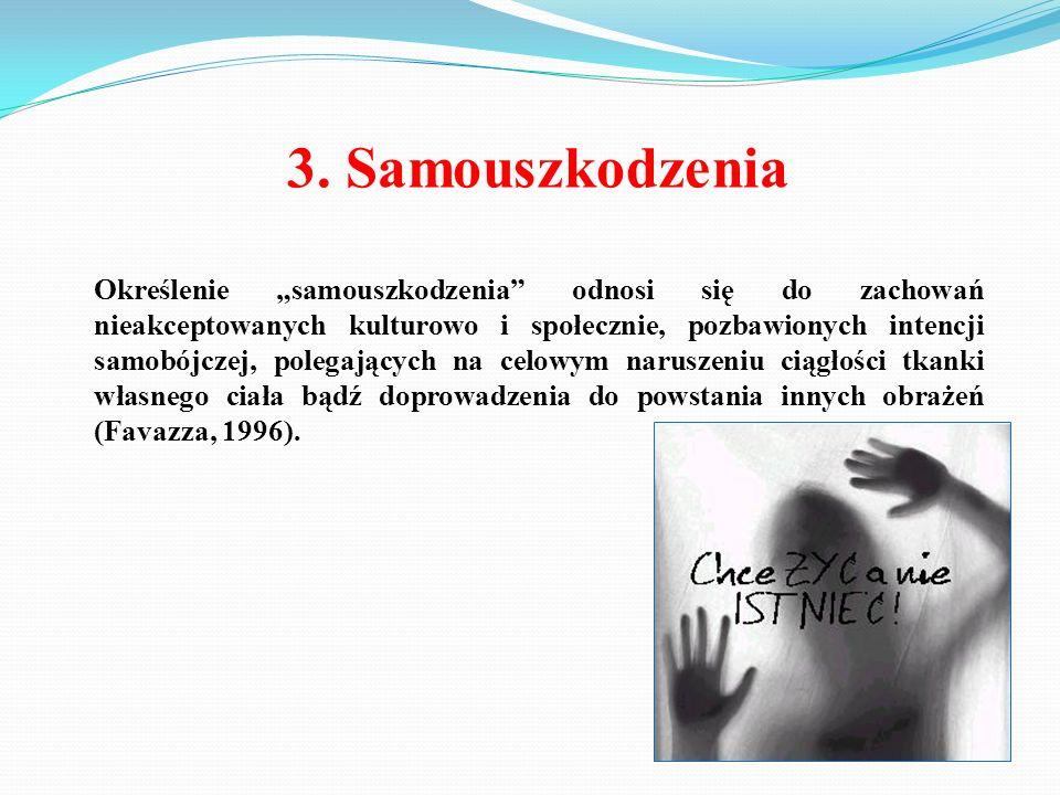 3. Samouszkodzenia