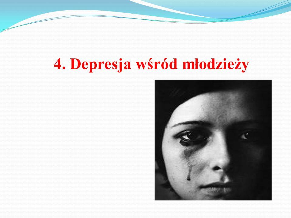 4. Depresja wśród młodzieży