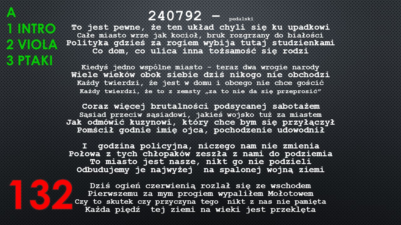 132 240792 – pedalski A 1 intro 2 viola 3 ptaki