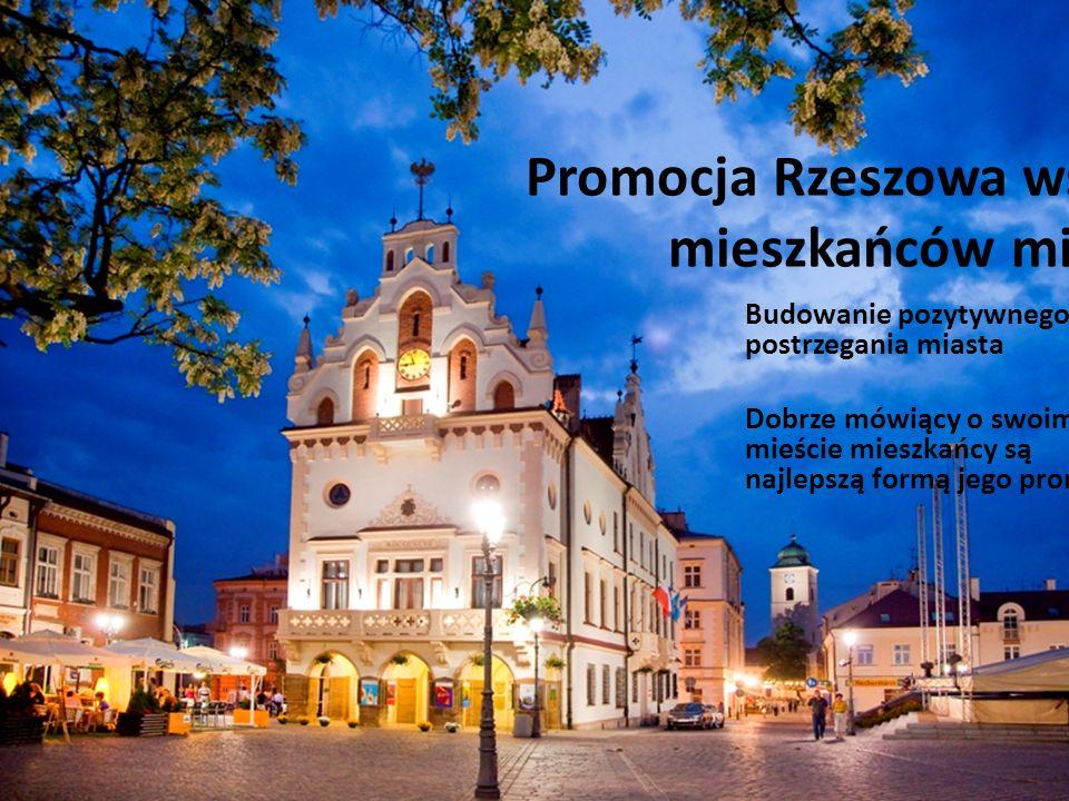 Promocja Rzeszowa wśród mieszkańców miasta