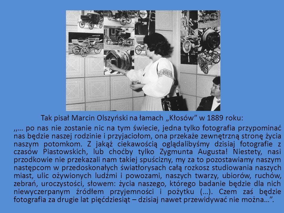 """Tak pisał Marcin Olszyński na łamach """"Kłosów w 1889 roku:"""