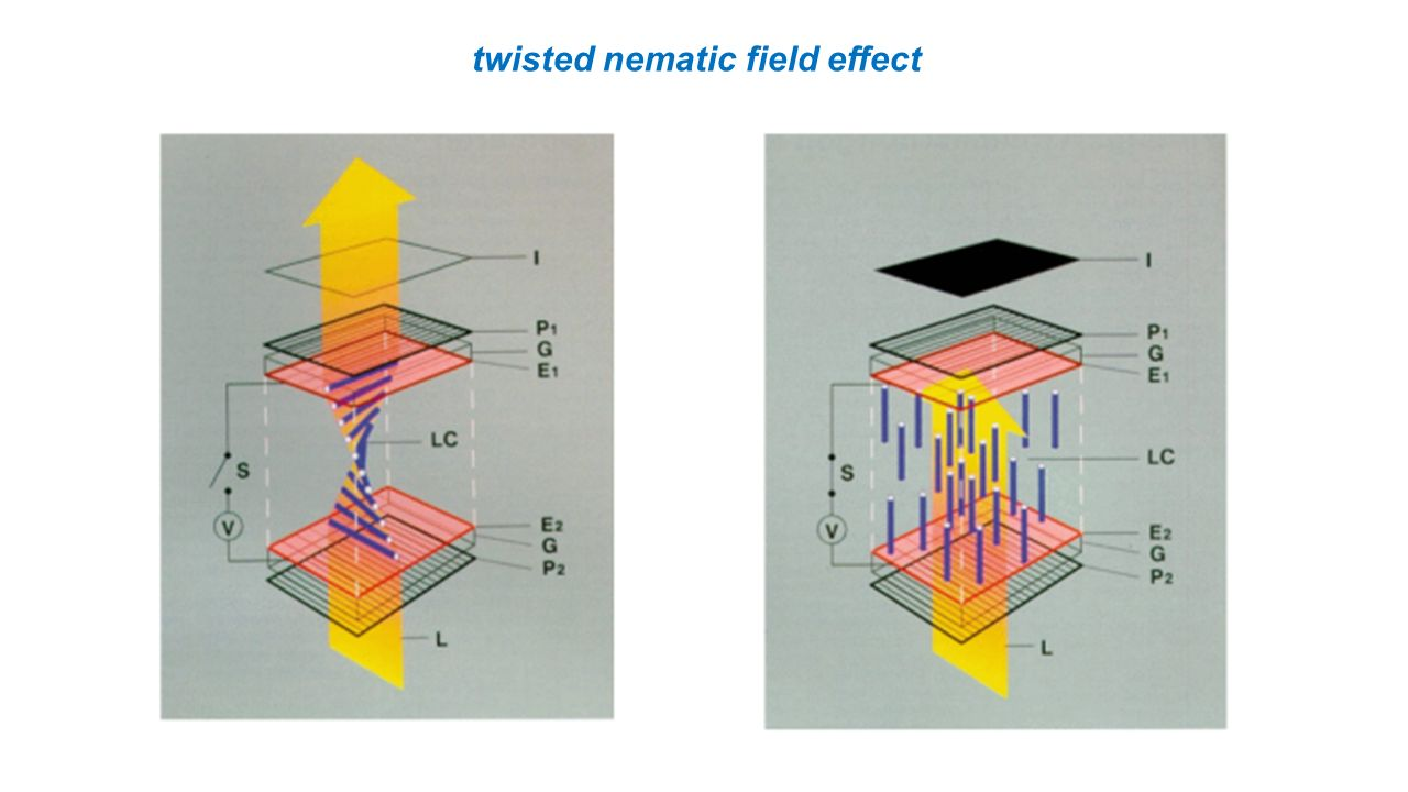 twisted nematic field effect