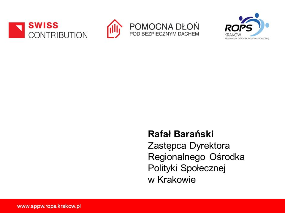 Regionalnego Ośrodka Polityki Społecznej w Krakowie