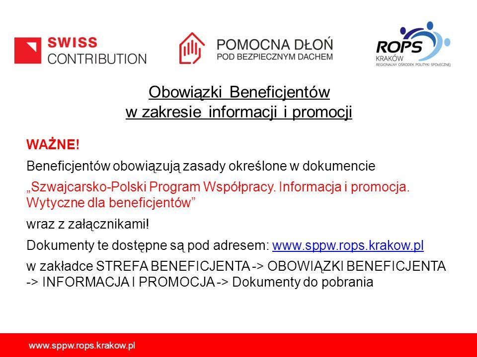 Obowiązki Beneficjentów w zakresie informacji i promocji