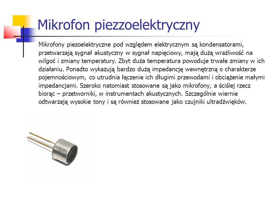 Mikrofon piezzoelektryczny