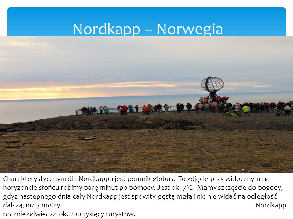 Nordkapp – Norwegia